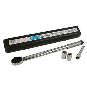 "Cartrend Drehmomentschlüssel 1/2"" bis 210 Nm inkl. Nüsse 17/19 mm"