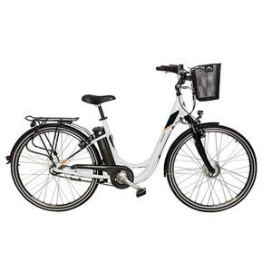"TELEFUNKEN RC756 Multitalent Alu-City-E-Bike 28"" VR-Motor weiß"