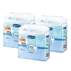 Babysoft Windeln Gr. 5 Junior 33 Windeln, 3er Pack