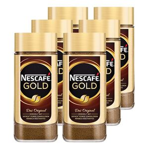 Nestle Nescafe Gold 200 g, 6er Pack