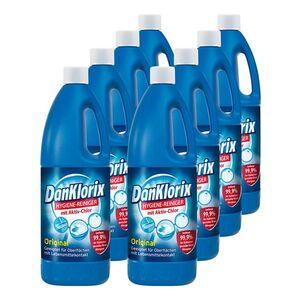 Dan Klorix Hygienereiniger 1,5 L, 8er Pack