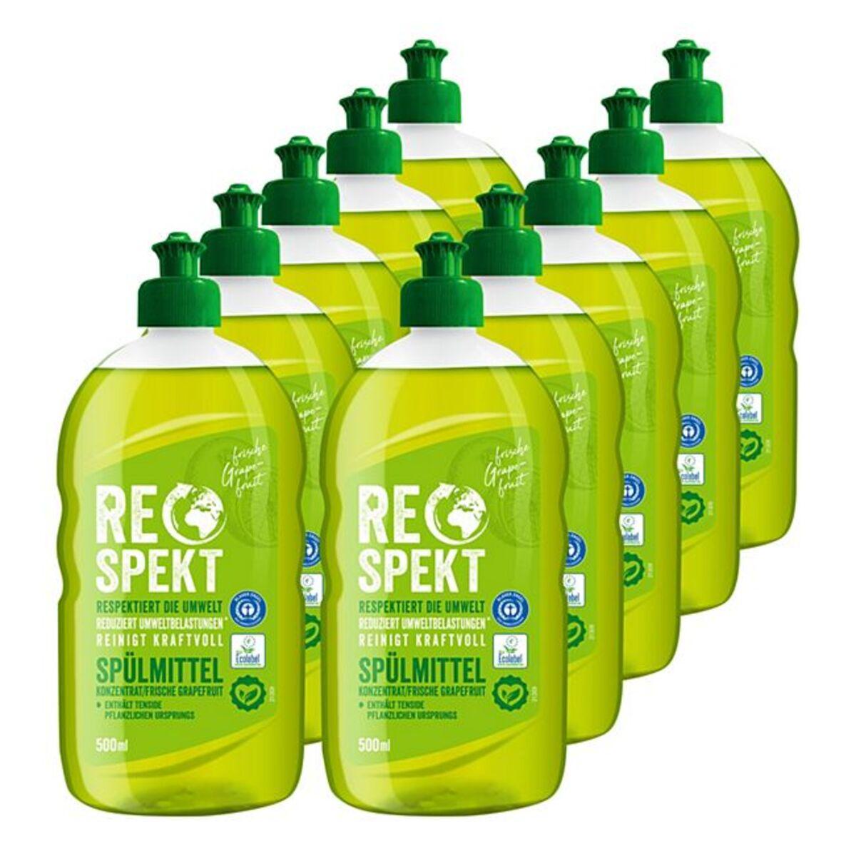 Bild 1 von Respekt Spülmittel Konzentrat 500 ml, 10er Pack