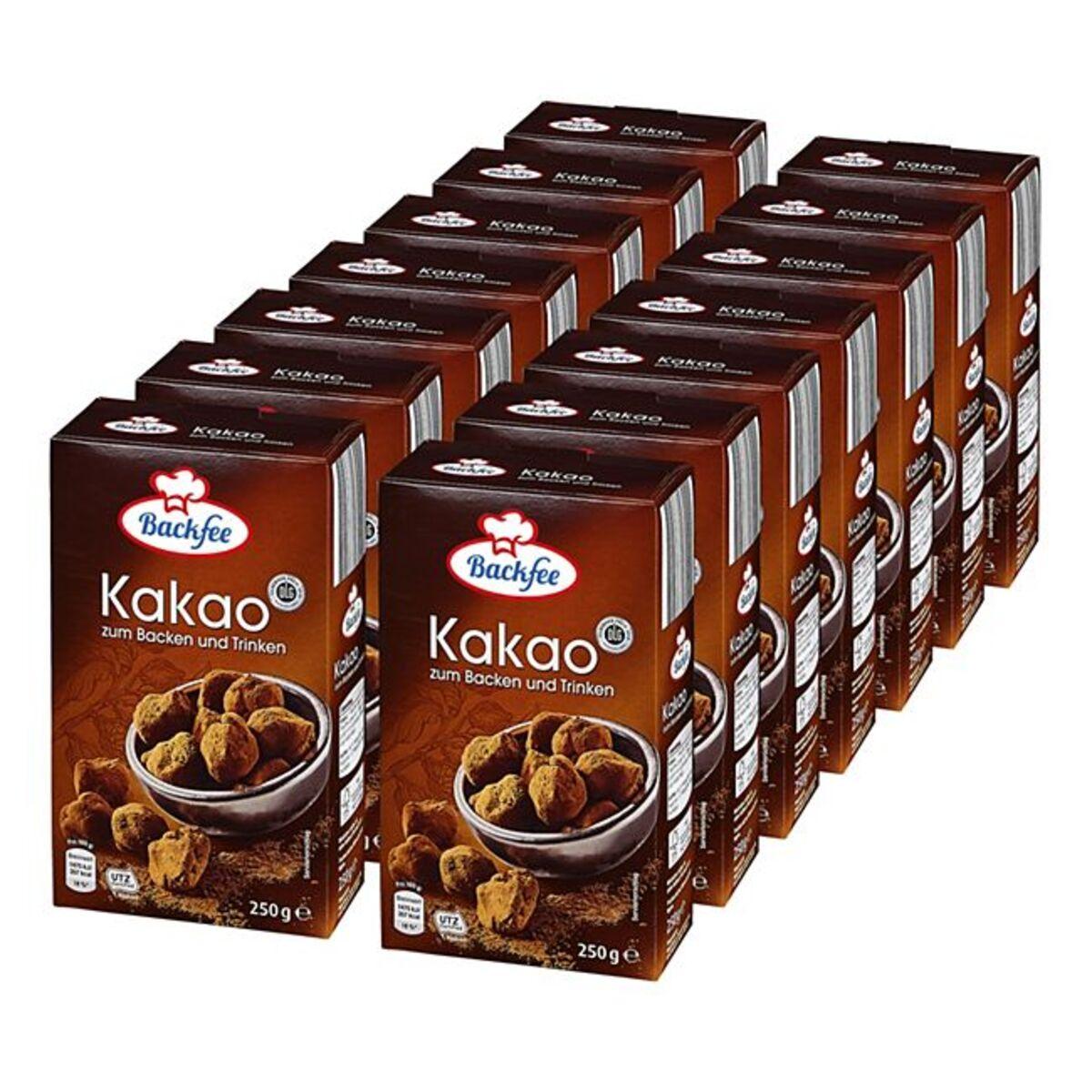 Bild 1 von Backfee Kakao 250 g, 14er Pack