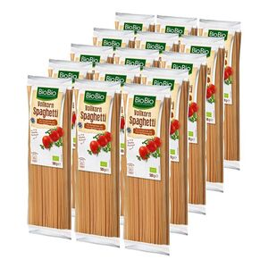 BioBio Spaghetti Vollkorn 500 g, 15er Pack