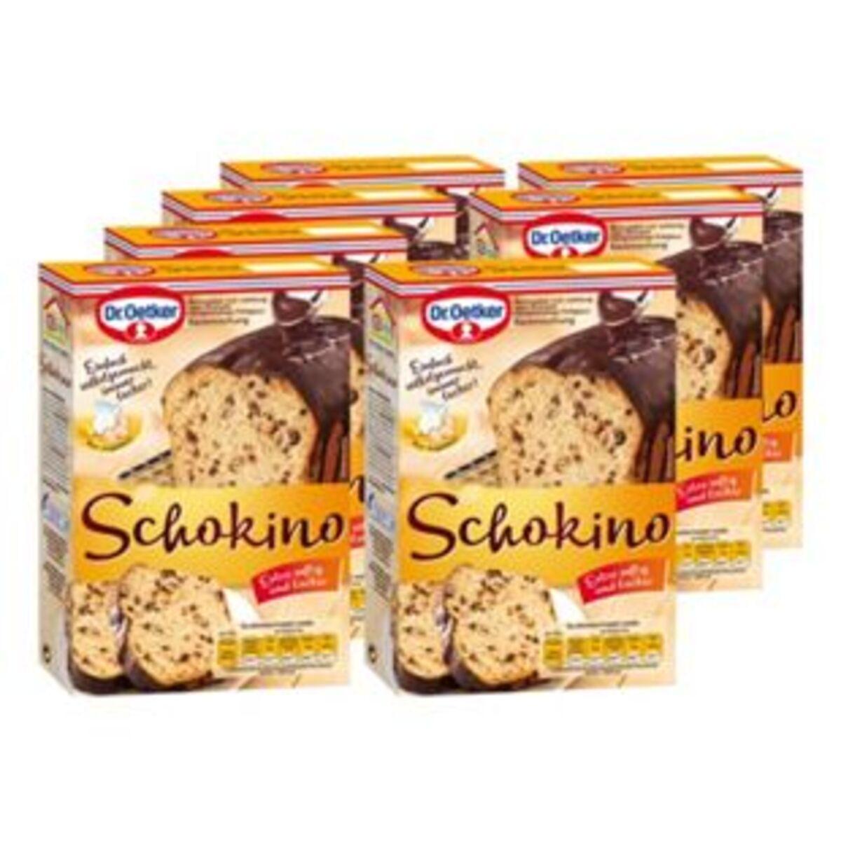 Bild 2 von Dr. Oetker Backmischung Schokino Kuchen 480 g, 8er Pack