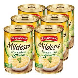 Hengstenberg Mildessa 3 Min. Sauerkraut 400 g, 6er Pack