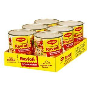 Maggi Ravioli in Tomatensauce 800 g, 6er Pack