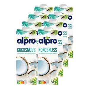 Alpro Kokosnussdrink Original 1 Liter, 8er Pack