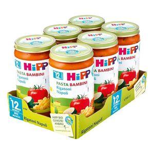 HiPP Bio Menü Pasta Rigatoni Napoli 250 g, 6er Pack