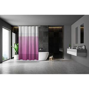 Dekor Duschvorhang, verschiedene Designs - Streifen