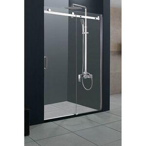 CLP Duschkabine KUONI, Duschabtrennung, Nischentür, Nano-Beschichtung, 8 mm Sicherheitsglas, verschiedene Größen erhältlich,