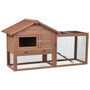 AniOne Kleintierstall mit Freigehege Woody Cottage
