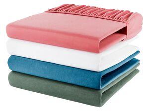 MERADISO® Jersey Spannbettlaken, 90-100 x 200 cm, einlaufsicher, mit Baumwolle