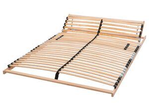 LIVARNO LIVING® 7-Zonen Lattenrost, 140 x 200 cm, Kopfteil und Härtegrad verstellbar
