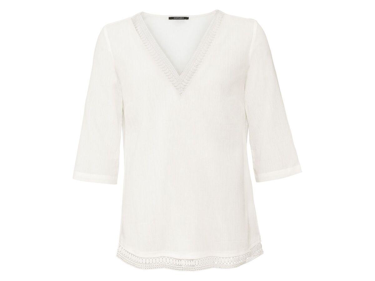 Bild 2 von ESMARA® Tunika Damen, mit Spitze, mit Baumwolle