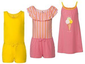 PEPPERTS® Kinder Strandkleid/ Jumpsuit, aus reiner Baumwolle