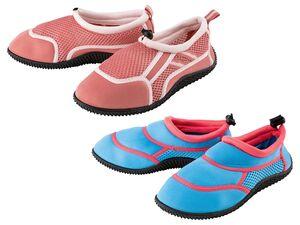 PEPPERTS® Kinder Badeschuh Mädchen, flexible Laufsohle, schnelltrocknend