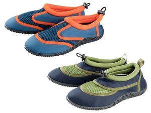 PEPPERTS® Aquaschuhe Jungen, flexible Laufsohle, leicht und schnelltrocknend, schützend