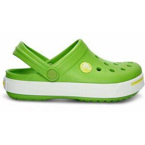 Kinder Crocs Volt Green Gr. US J2 Gr. EU 33-34