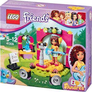 LEGO® Sortiment - Andrea's Showbühne
