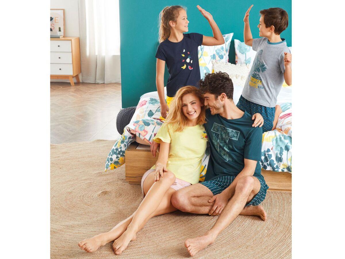 Bild 5 von ESMARA® Lingerie Schlafshirt Damen, mit modischem Print, mit Baumwolle