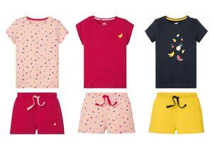 PEPPERTS® Shorty Mädchen, Shorts mit Gummizugbund, aus reiner Baumwolle, trocknergeeignet