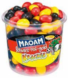 MAOAM Kracher Schwarz-rot-gold