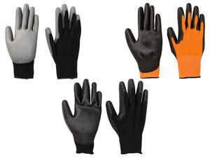 PARKSIDE® Multifunktionshandschuhe, 2 Paar, mit Strickbund, PU-Beschichtung, guter Tastsinn