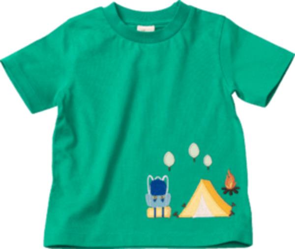 ALANA Kinder Shirt, Gr. 98, in Bio-Baumwolle, grün
