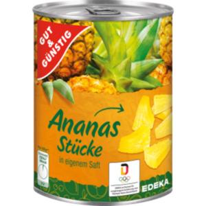 Gut & Günstig Ananasstücke