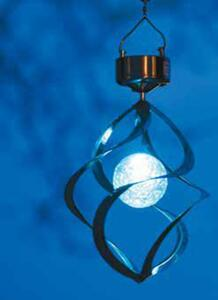 Solar-Windspiel aus Metall