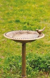 Garden Dream Vogelbad in Antik-Bronze-Look