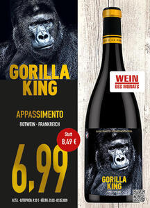 Gorilla King Appassimento Rotwein Frankreich