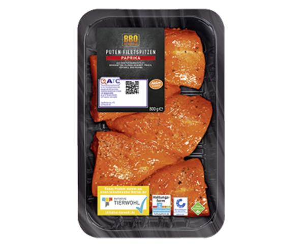 BBQ Puten-Filetspitzen Paprika
