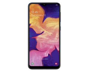 "15,8 cm (6,2"") Smartphone mit AndroidTM 9 Pie Samsung Galaxy A10"