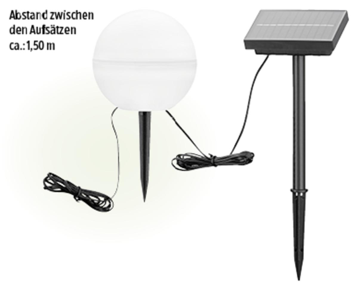 Bild 1 von CASA Deco Solar-Bodenlichterkette