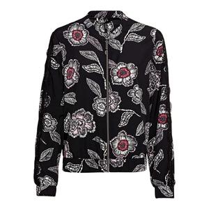 Damen-Jacke mit Blumenmuster