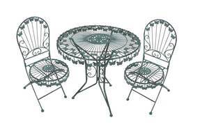 Balkon Tischgruppe mit Schmetterlingsmotiv Garden Pleasure