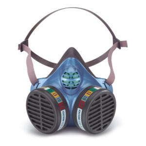Moldex Halbmaske FFABEK1, Größe M/L, organische Gase, anorganische Gase, Saure Gase und Ammoniak