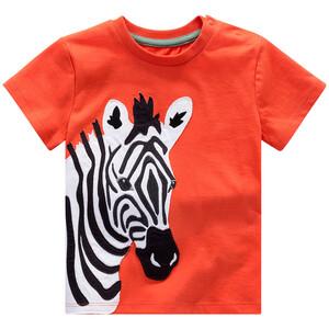 Baby T-Shirt mit Zebra-Applikation