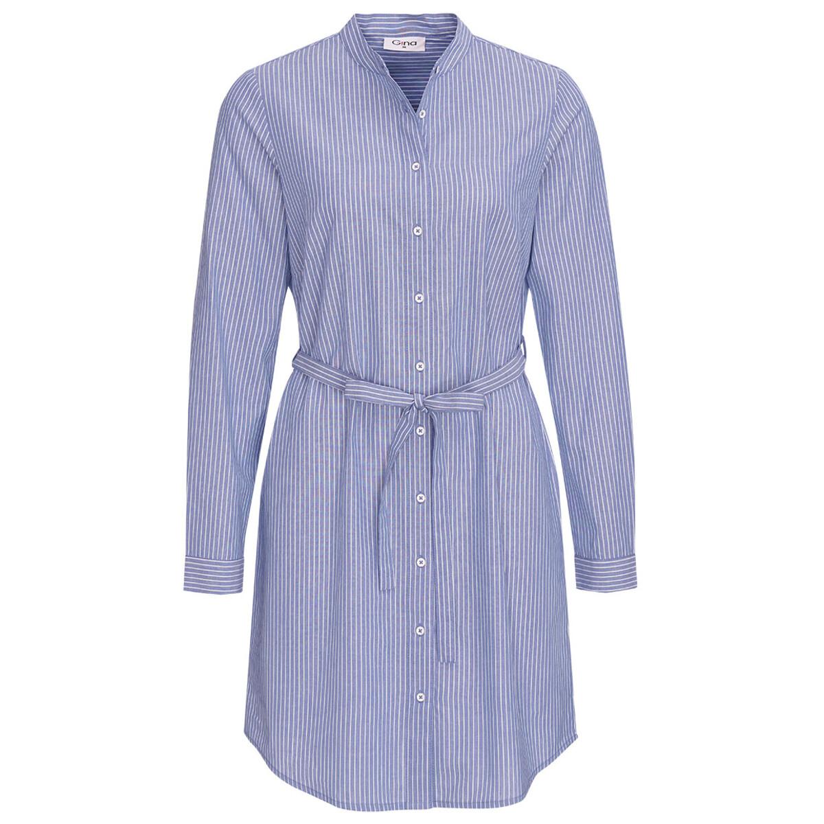 Bild 1 von Damen Hemdblusenkleid mit Längsstreifen
