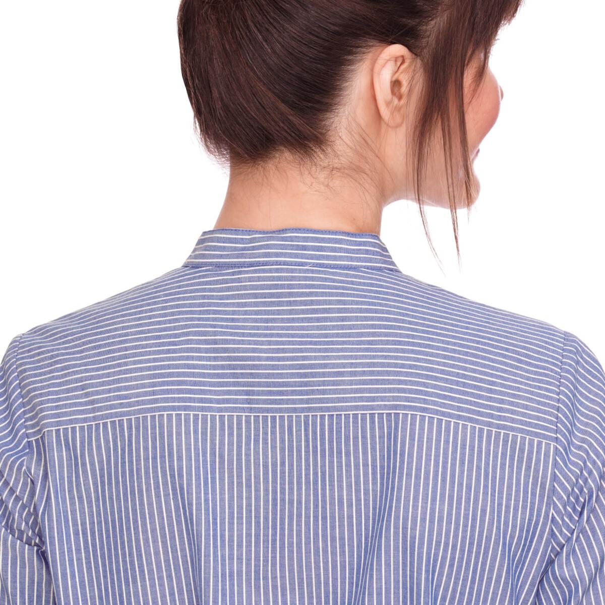 Bild 5 von Damen Hemdblusenkleid mit Längsstreifen