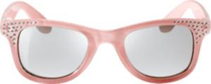 SUNDANCE Sonnenbrille für Kinder Rosa mit Glitzer-Verzierung