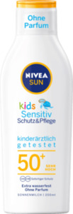NIVEA SUN Kids Schutz & Sensitiv Lotion LSF 50+