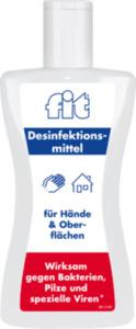 fit Desinfektionsmittel f.Hände+Oberfllächen