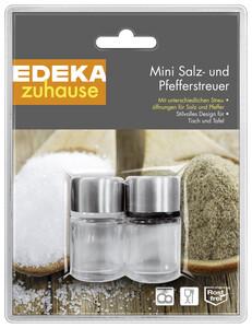 EDEKA zuhause Mini Salz- und Pfefferstreuer 1 Stück