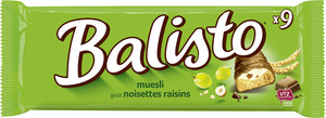Balisto Müsli Schokoriegel 9x 18,5 g