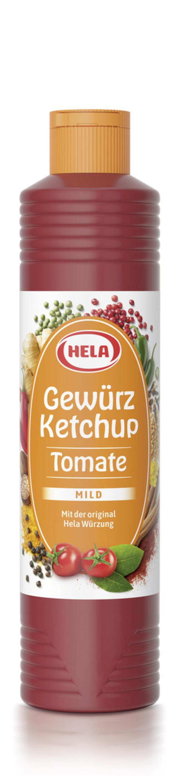 Hela Tomaten Gewürz Ketchup mild 800 ml