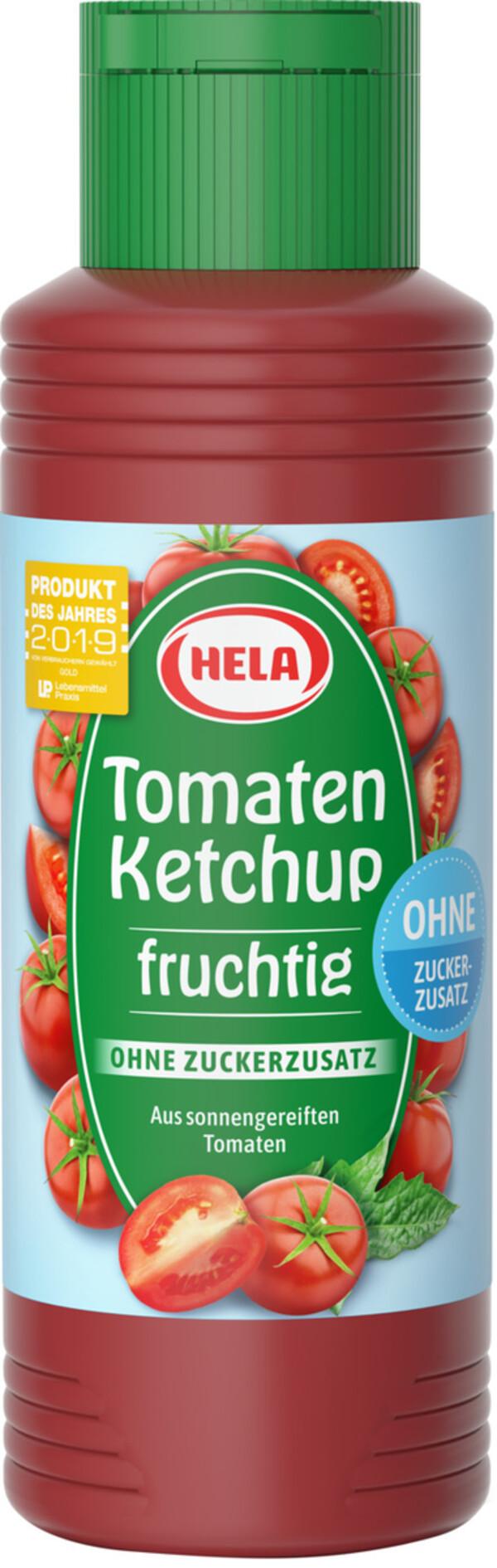 Hela Tomaten Ketchup ohne Zuckerzusatz 300 ml