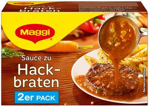 Maggi Sauce zu Hackbraten ergibt 2x 250 ml